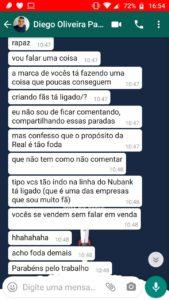 Depoimento do cliente: Diego Oliveira.